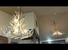 montana made antler chandeliers and lighting company