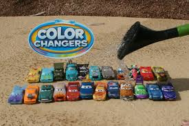 Small Picture Color Changers Cars Video Cars 2 Color Splash Speedway Ramones