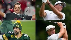 Tom Brady, Phil Mickelson vs. Aaron ...