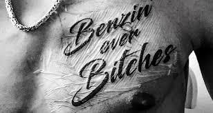 Das Geht Unter Die Haut Deutschrapfans Stellen Ihre Tattoos Vor