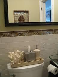 Interior: Beautiful Bathroom Design Using Dark Grey Ceramic Mosaic ...