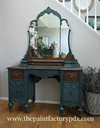 painting furniture ideas color. mirrored vanity contrast stained and painted painting furniture ideas color r