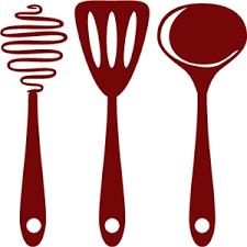 kitchen utensils split silhouette. Delighful Split Cooking Utensils To Kitchen Utensils Split Silhouette