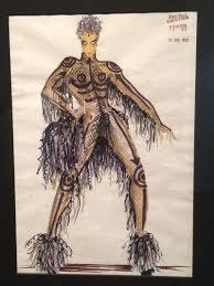Fifth Element Costume Designer Fifth Element Concept Art Reveals Princes Original Look As