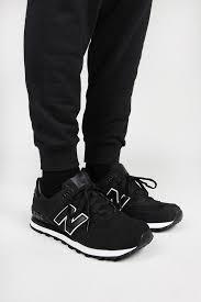 new balance 574 black. new balance, highroller 574, black | balance pinterest men sneakers 574