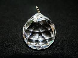 replacement crystals for chandelier crystal ball colored