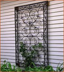 large outdoor iron wall decor