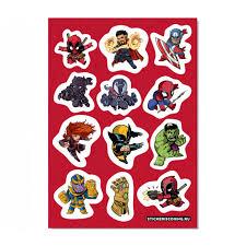 <b>Набор стикеров</b> «<b>Marvel</b>» #1 — Магазин комиксов Krampus