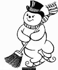 Small Picture Snowman Coloring Pages Snowman Coloring books and Christmas colors