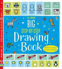 the usborne big step by step drawing book paperback 9781474906463 fiona
