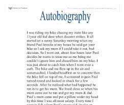 autobiography example essay madrat co autobiography example essay