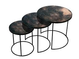 bronze accent table round mirrored glass side table bronze nesting side table set 3 by antique bronze accent table bronze and glass accent table