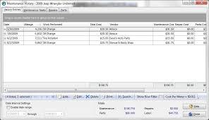 vehicles maintenance records auto maintenance pro vehicle maintenance for the personal vehicle owner