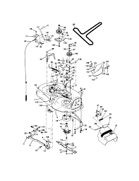 Craftsman lawn mower wiring schematic