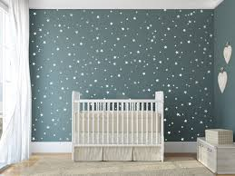 star vinyl wall decal 148 silver stars art on stars nursery wall art with amazon com moon and stars wall decals baby room nursery clouds