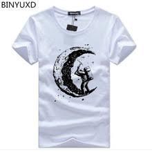 Мужская <b>футболка</b> BINYUXD Sunmmer, хлопковая Повседневная ...