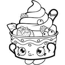 Small Picture 25 unique Shopkins coloring pages free printable ideas on