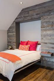 awesome bedrooms. View In Gallery Murphy Bed And Pull-out Nightstands Disappear Into The Reclaimed Wood Wall When Not Needed Awesome Bedrooms K