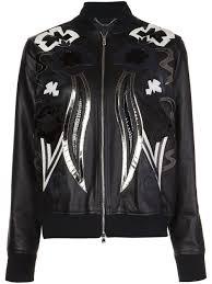 sel black gold leather er jacket women clothing sel black gold jeans authentic