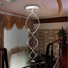 get ations 80 190 cm floor length round crystal chandelier lamp crystal lamps hanging wire double