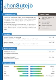 Download One Page Resume Examples Haadyaooverbayresort Com