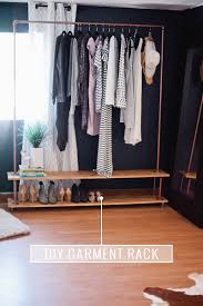 rolling diy garment rack get the full simple and easy tutorial to make your own