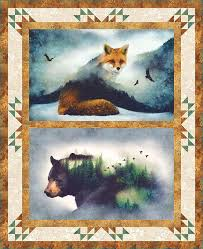 Best 25+ Wildlife quilts ideas on Pinterest | Panel quilts, Fabric ... & Call of the Wild panel quilt Adamdwight.com