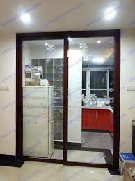 kitchen glass sliding door glass sliding doors kitchen kitchen glass sliding door singapore