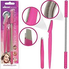 hair removal threading tool set by eliesebeauty removes hair from upper lip chin