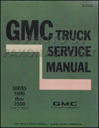 chevy truck gmc assembly manual reprint pickup suburban related items