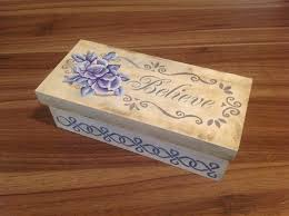 Decorating Boxes With Paper Decorate plain and boring boxes with stencil Craft projects for 74
