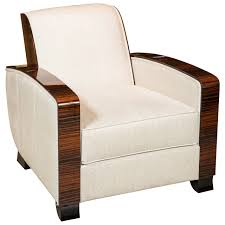 furniture art deco style. Art Deco Style Club Chair In Macassar | 1stdibs.com Furniture L