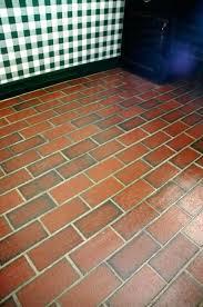 painted brick floors faux