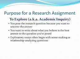 the curious researcher ppt  16 purpose