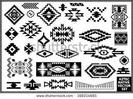Creativity Navajo Border Designs Native Design Elements Vector Set And Impressive