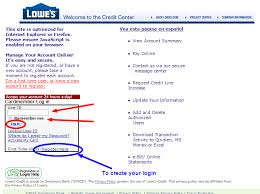 lowes com pay credit card
