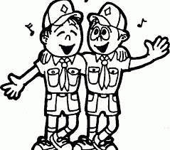 Small Picture Boy scout coloring pages cub scout coloring pages bestofcoloring
