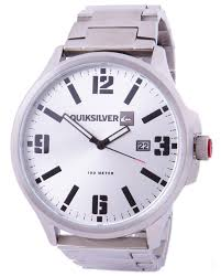 quiksilver beluka watch dark silver surfstitch dark silver mens accessories quiksilver watches hqm154bf dsilea