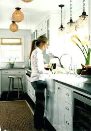 over the sink kitchen lighting. Kitchen Sink Light Distance From Wall Pendant Over Lighting Imposing Mini Lights . The