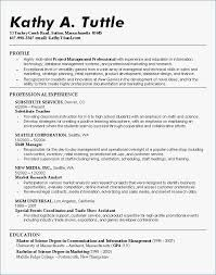 Seattle Colleges Inspirational Personal College Admission Resume