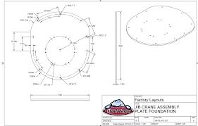 Jib Crane Base Plate Design Jib Crane Calculations