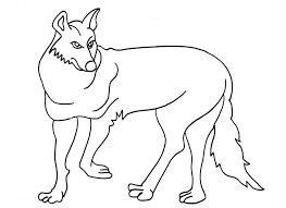 Small Picture Alluring Coyote Coloring Pages Good Page Head Free Printable
