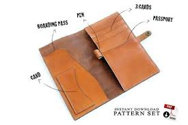 Leather Templates Retro Vintage Out Of Print Patterns Instruction Books Leather