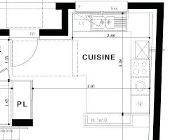 Plan Amenagement Cuisine En I Tout Sur La Cuisine Et Le Mobilier