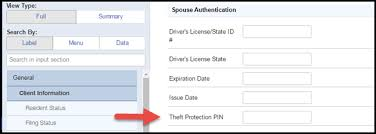 - Taxpayer Authentication Community Accountants Identity Entering Theft Prote And spouse