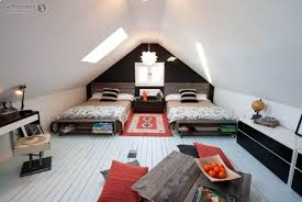 Sloped Roof Bedroom Bedroom Amazing Attic Bedroom Design Ideas And Amazing Sloping