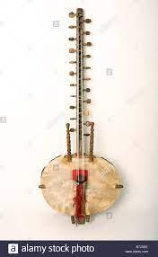 Kora Instrument afrikanischen musikalischen Saiteninstrument  Stockfotografie - Alamy
