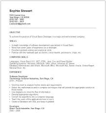Examples Of Simple Resumes Resumes For Beginners Basic Resume