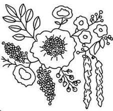 無料の刺繍図案 お花 刺繍 刺繍 図案 花刺繍図案