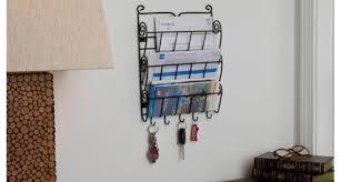 office key holder. Evelots Tier Wall Mount Letter Rack Key Holder Home Office D